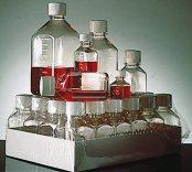 Nalgene®  Square Media Bottles