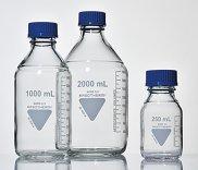 Rasotherm®  Laborgewindeflasche GL45, Borosilikatglas 3.3