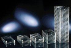 Nunc  Wannenstapel mit Nunclon™ Δ Oberfläche, aktiv begasbar